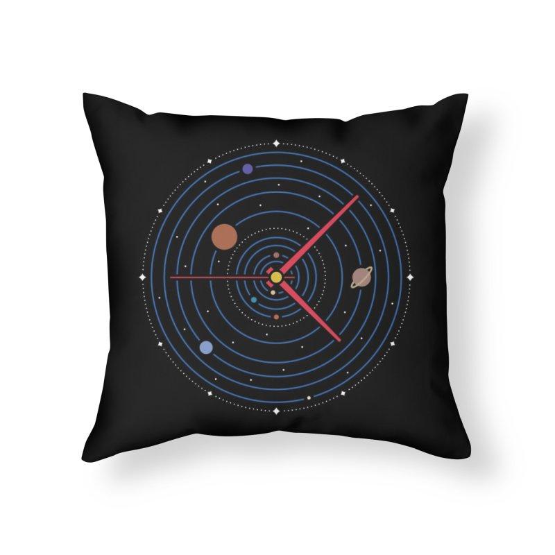 Spacetime* Home Throw Pillow by Threadless Artist Shop