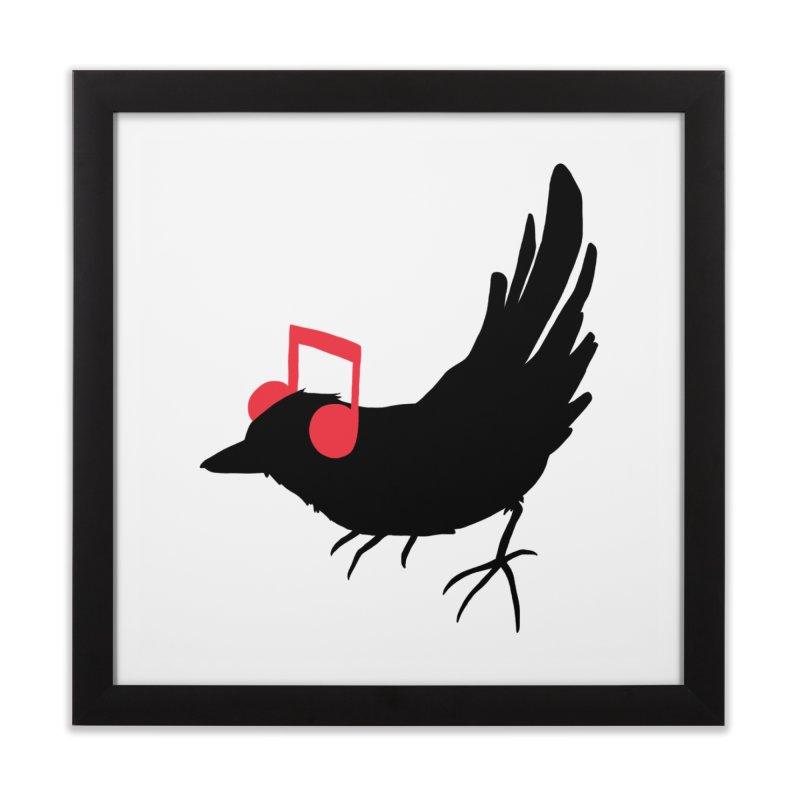 Listening to My Song Home Framed Fine Art Print by Threadless Artist Shop