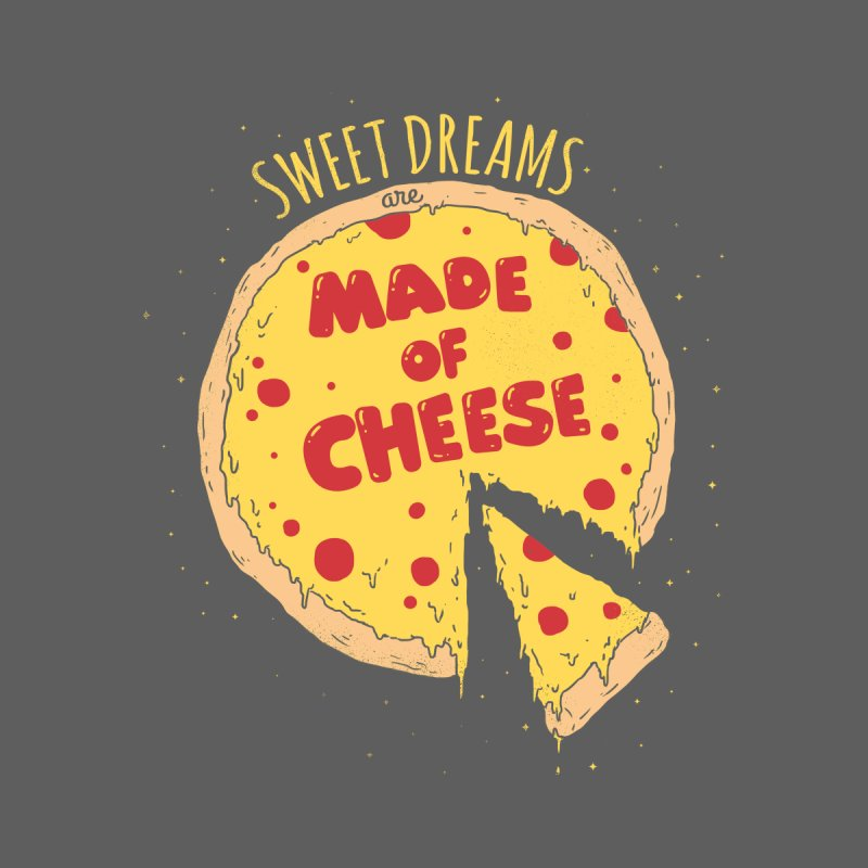 Sweet Dreams Are Made of Cheese Kids T-Shirt by Threadless Artist Shop