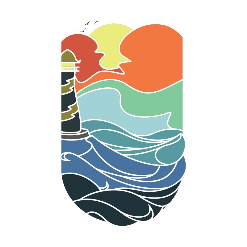 I can see the sea Men's Longsleeve T-Shirt by Threadless Artist Shop