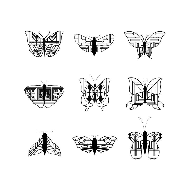 wright's butterflies Kids T-Shirt by Threadless Artist Shop