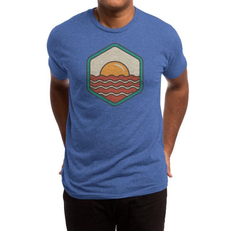 BREAKFAST IN SHORE Men's T-Shirt by Threadless Artist Shop