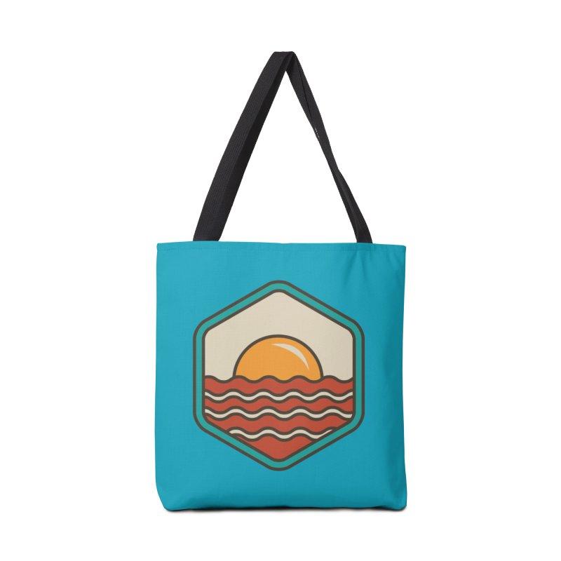 BREAKFAST IN SHORE Accessories Bag by Threadless Artist Shop