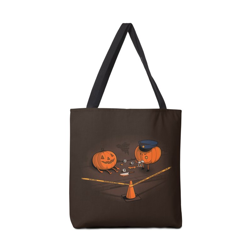 Crime Scene Accessories Bag by Threadless Artist Shop