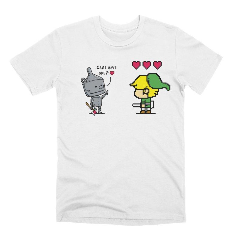 Heart Seeker - Chow Hon Lam Men's T-Shirt by Threadless Artist Shop
