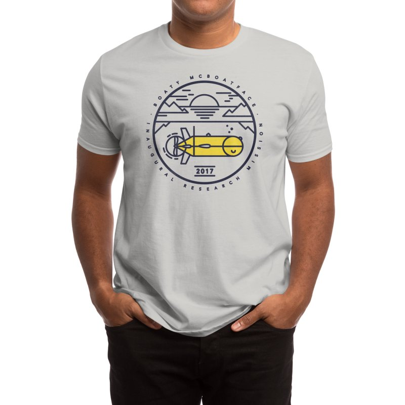 Boaty McBoatface Launch Men's T-Shirt by Threadless Artist Shop