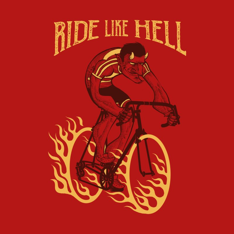 Ride like Hell Men's Pullover Hoody by Threadless Artist Shop