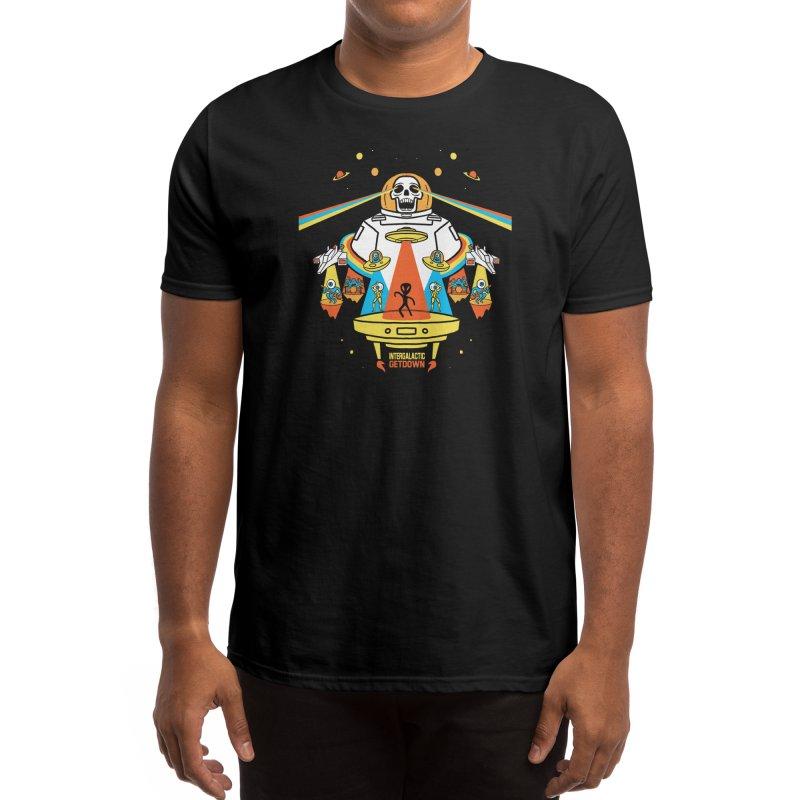 Intergalactic Get Down Men's T-Shirt by Threadless Artist Shop