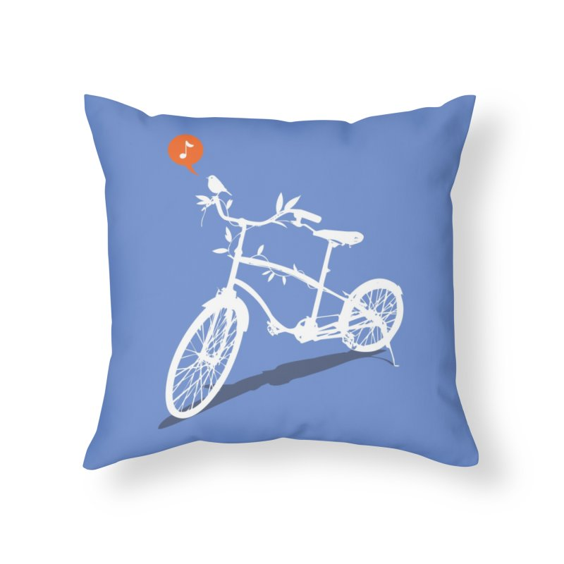 Nature Call! Home Throw Pillow by Threadless Artist Shop