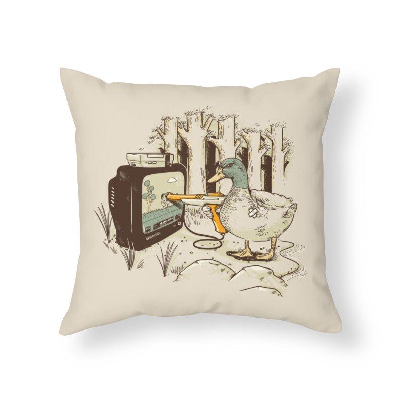 8-BIT Vendetta Home Throw Pillow by Threadless Artist Shop