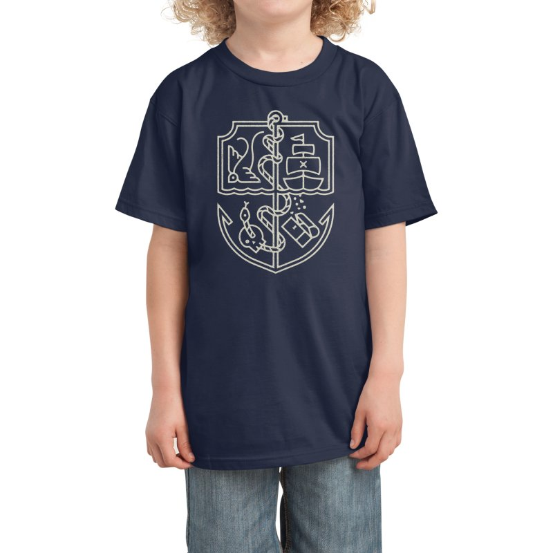 Of the Sea Kids T-Shirt by Threadless Artist Shop