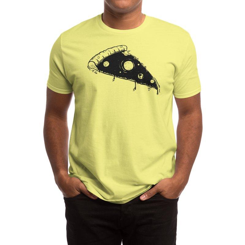 pizza space Men's T-Shirt by Threadless Artist Shop