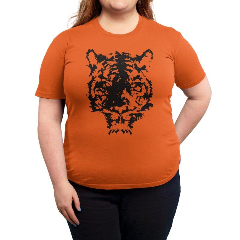 Big Cats Women's T-Shirt by Threadless Artist Shop