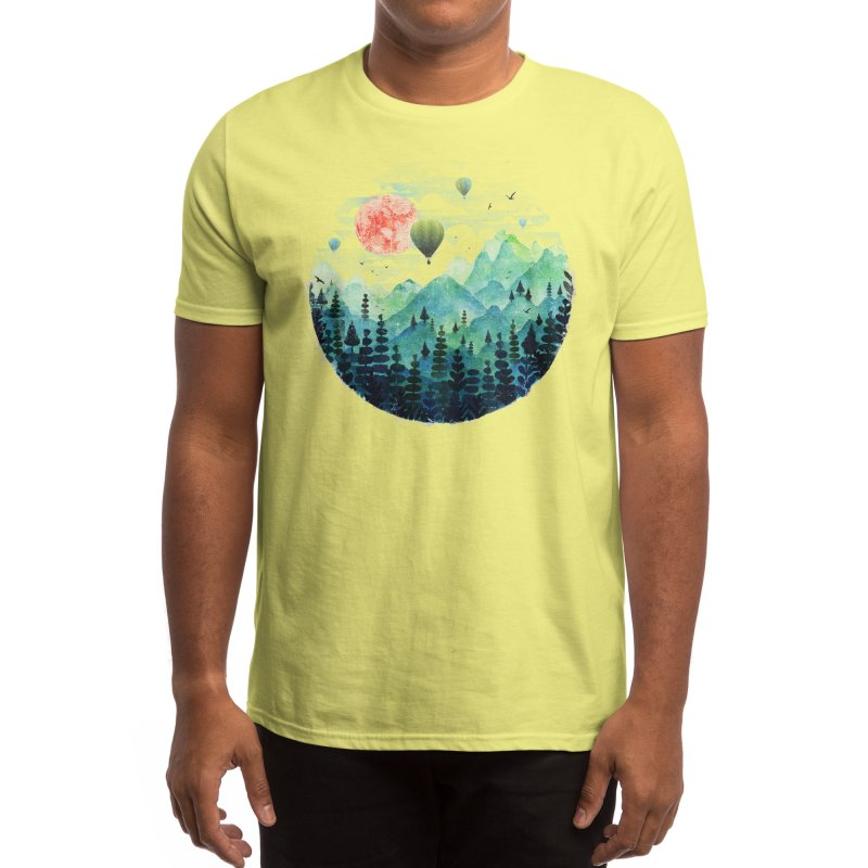 Roundscape Men's T-Shirt by Threadless Artist Shop