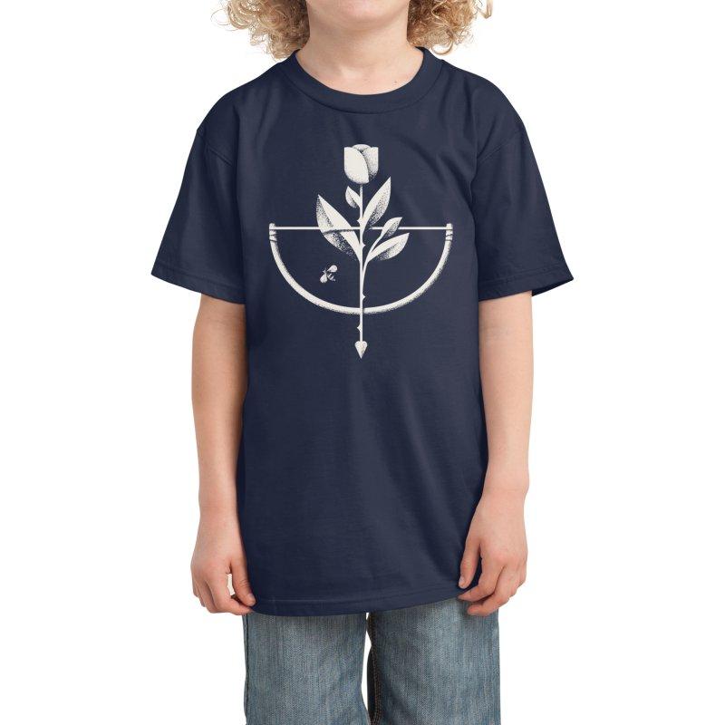 Rose Garden Kids T-Shirt by Threadless Artist Shop