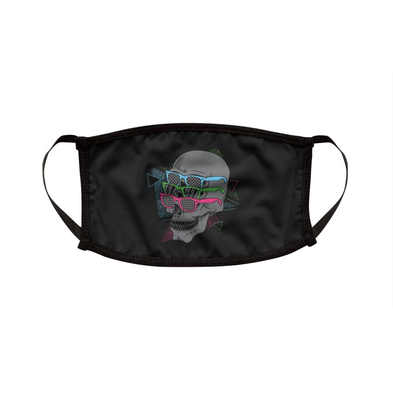 Between The Eyes Accessories Face Mask by Threadless Artist Shop