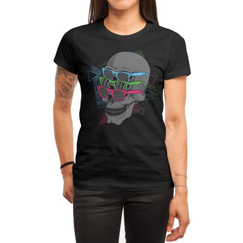 Between The Eyes Women's T-Shirt by Threadless Artist Shop