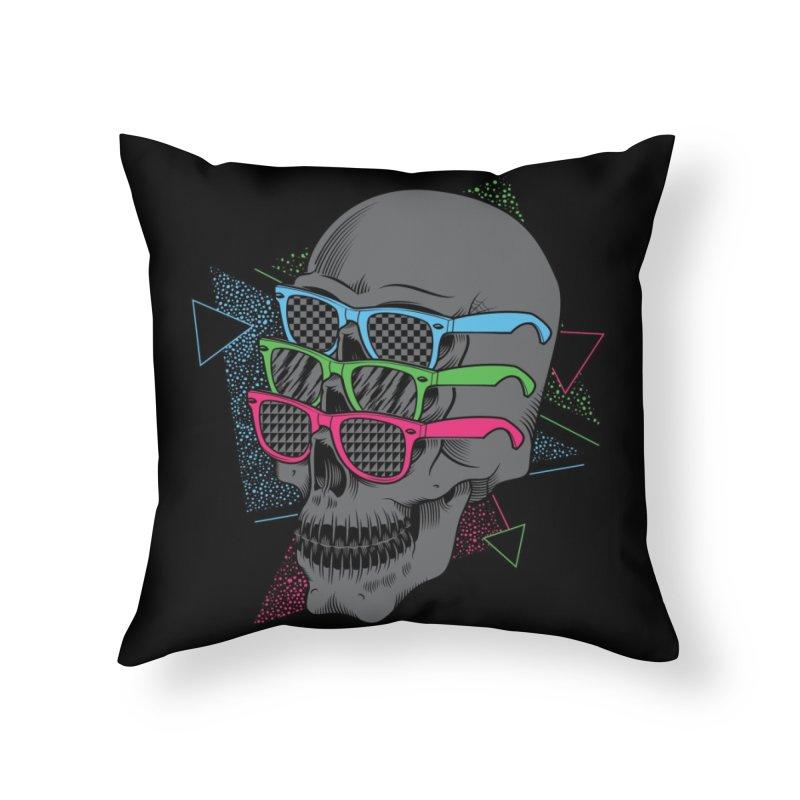 Between The Eyes Home Throw Pillow by Threadless Artist Shop