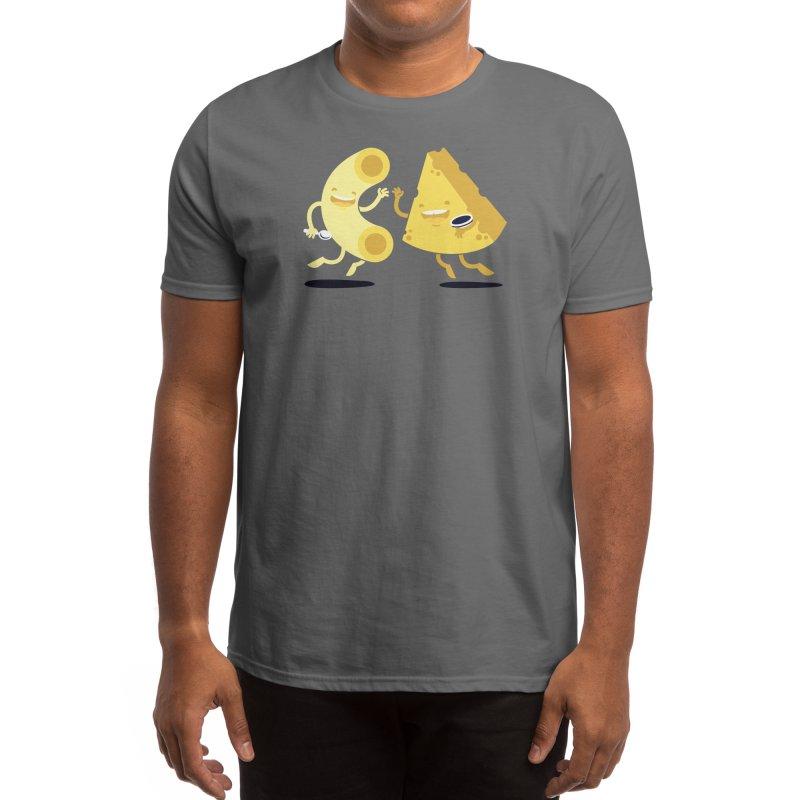Cheesy Friends Forever Men's T-Shirt by Threadless Artist Shop
