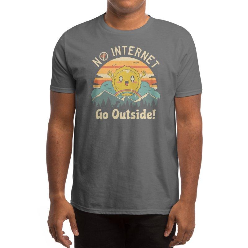 No Internet Vibes! Men's T-Shirt by Threadless Artist Shop
