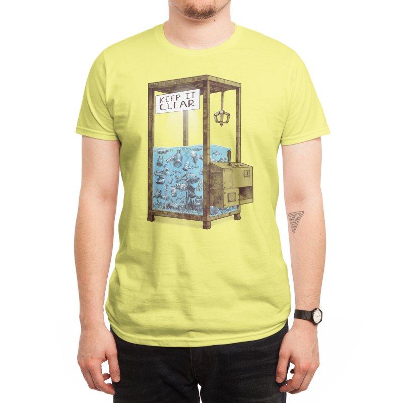 Keep it clear Men's T-Shirt by Threadless Artist Shop