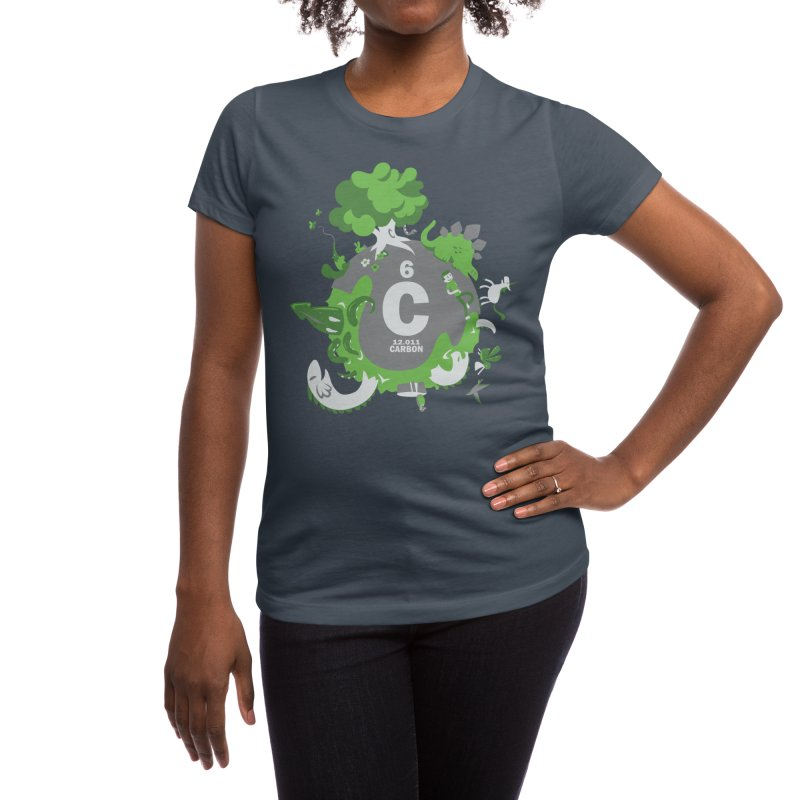 We Are Made of Carbon Women's T-Shirt by Threadless Artist Shop