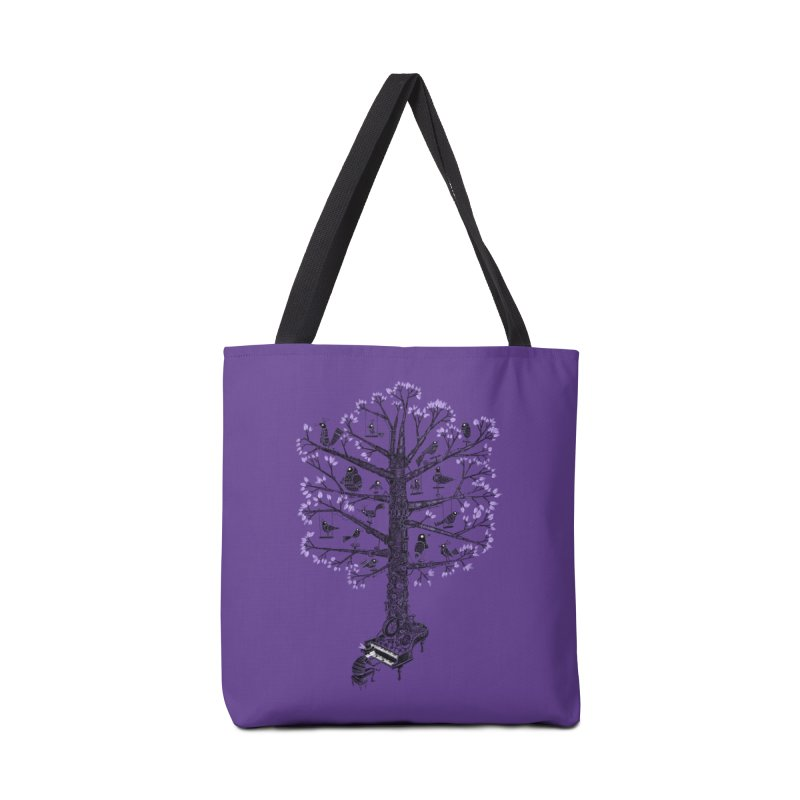 The Symphonic Tree Accessories Bag by Threadless Artist Shop