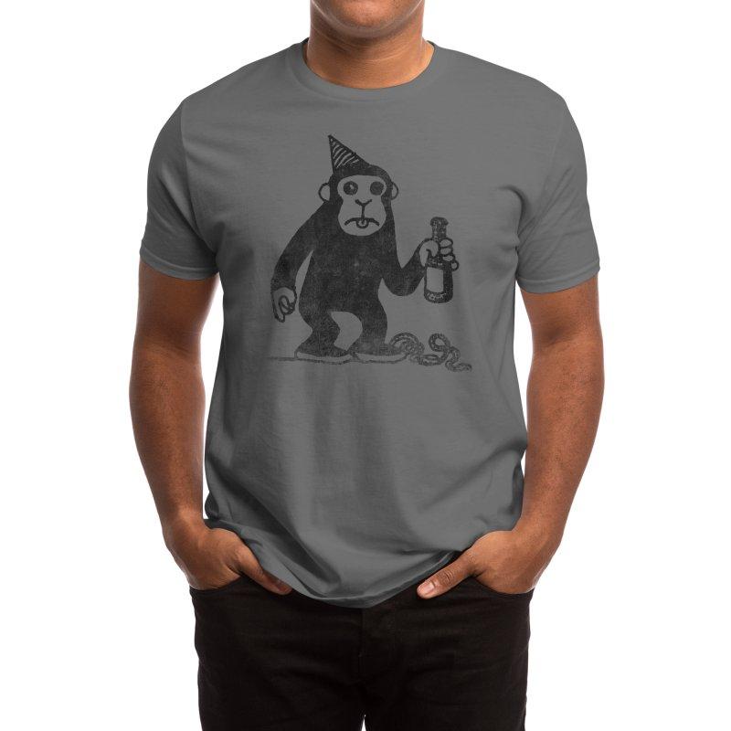 M For Monkey: Threadless Baseball Tee Men's T-Shirt by Threadless Artist Shop