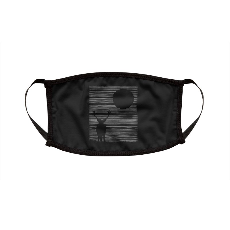 Night Lines Accessories Face Mask by Threadless Artist Shop