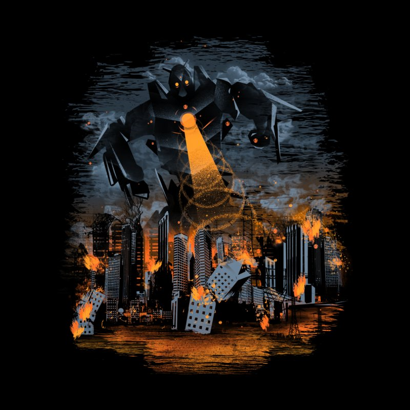 Evil Will Burn Men's T-Shirt by Threadless Artist Shop