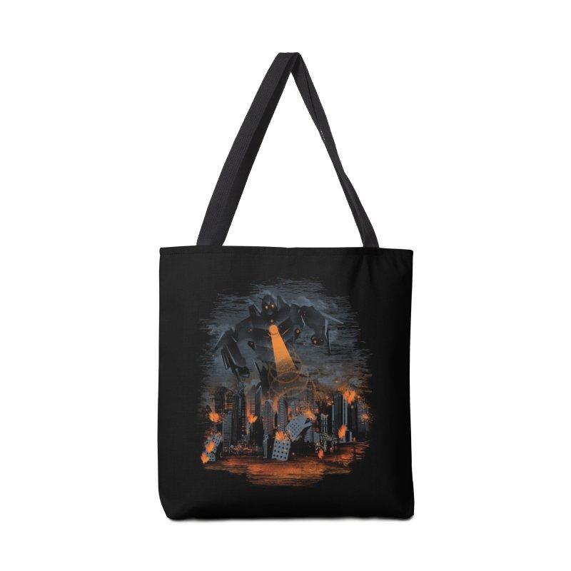 Evil Will Burn Accessories Bag by Threadless Artist Shop