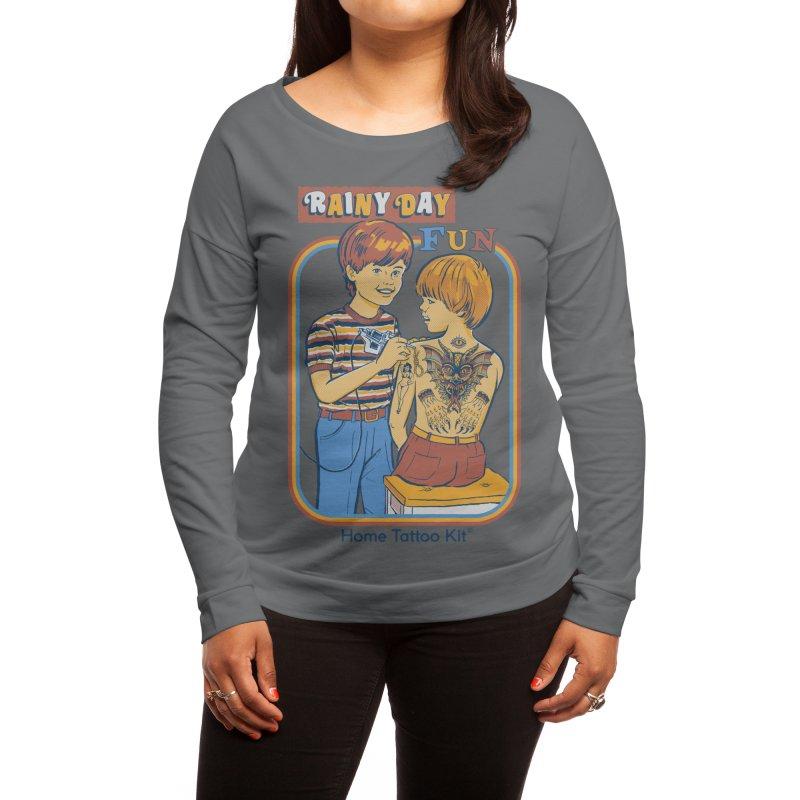 Rainy Day Fun Women's Longsleeve T-Shirt by Threadless Artist Shop