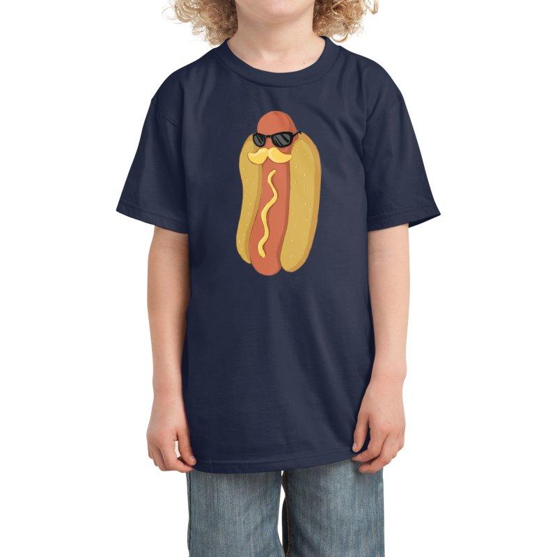 Moustardche! Kids T-Shirt by Threadless Artist Shop