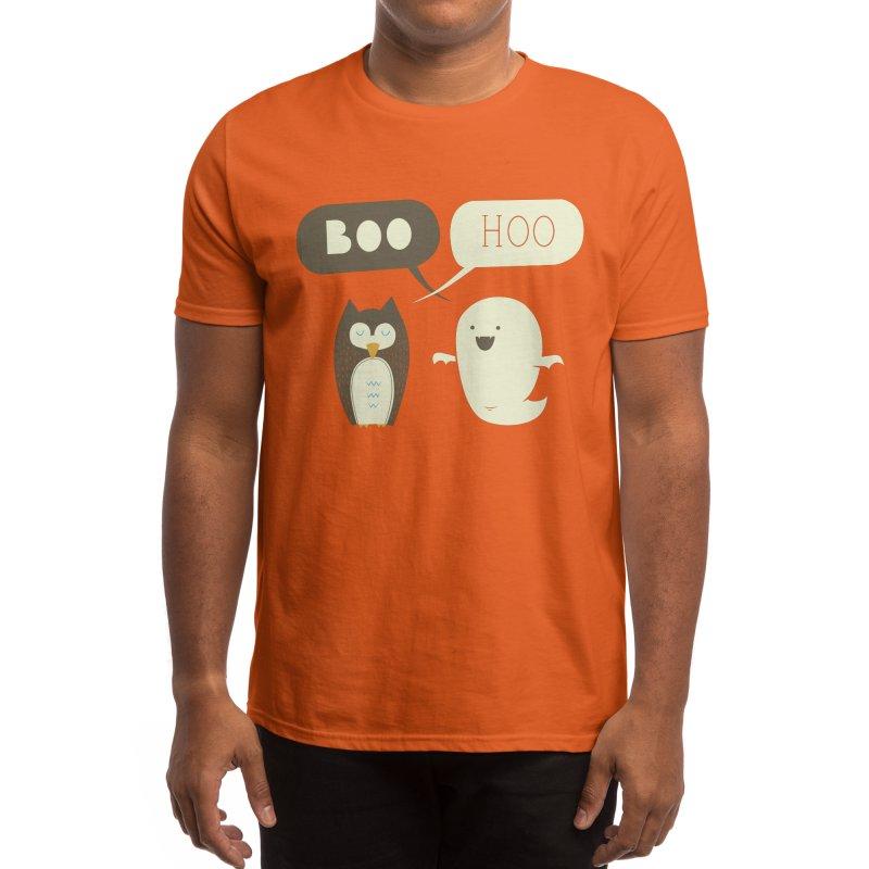 Boohoo Men's T-Shirt by Threadless Artist Shop