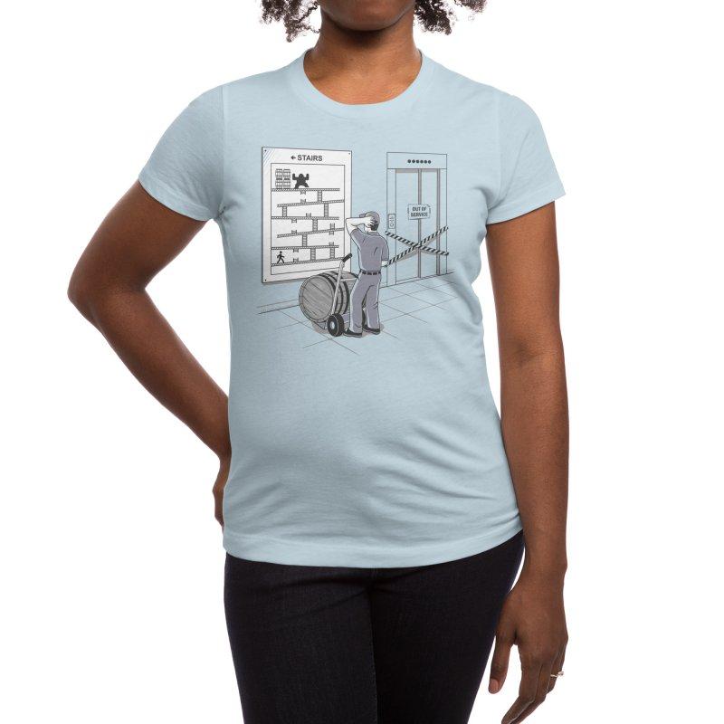 Hard Job Women's T-Shirt by Threadless Artist Shop