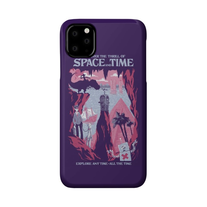 Space and Time Accessories Phone Case by Threadless Artist Shop