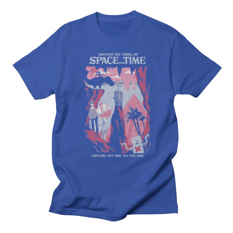 Space and Time Women's T-Shirt by Threadless Artist Shop
