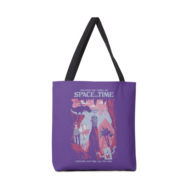 Space and Time Accessories Bag by Threadless Artist Shop