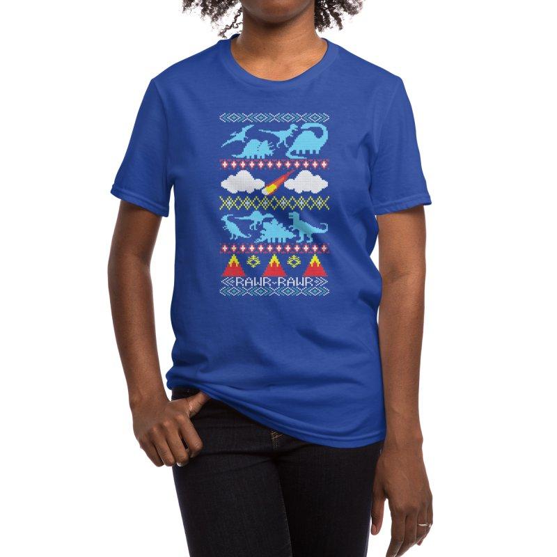 My Grandma Likes Dinosaurs Women's T-Shirt by Threadless Artist Shop