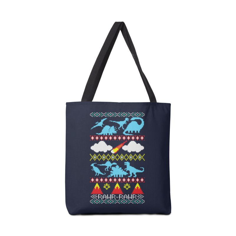 My Grandma Likes Dinosaurs Accessories Bag by Threadless Artist Shop