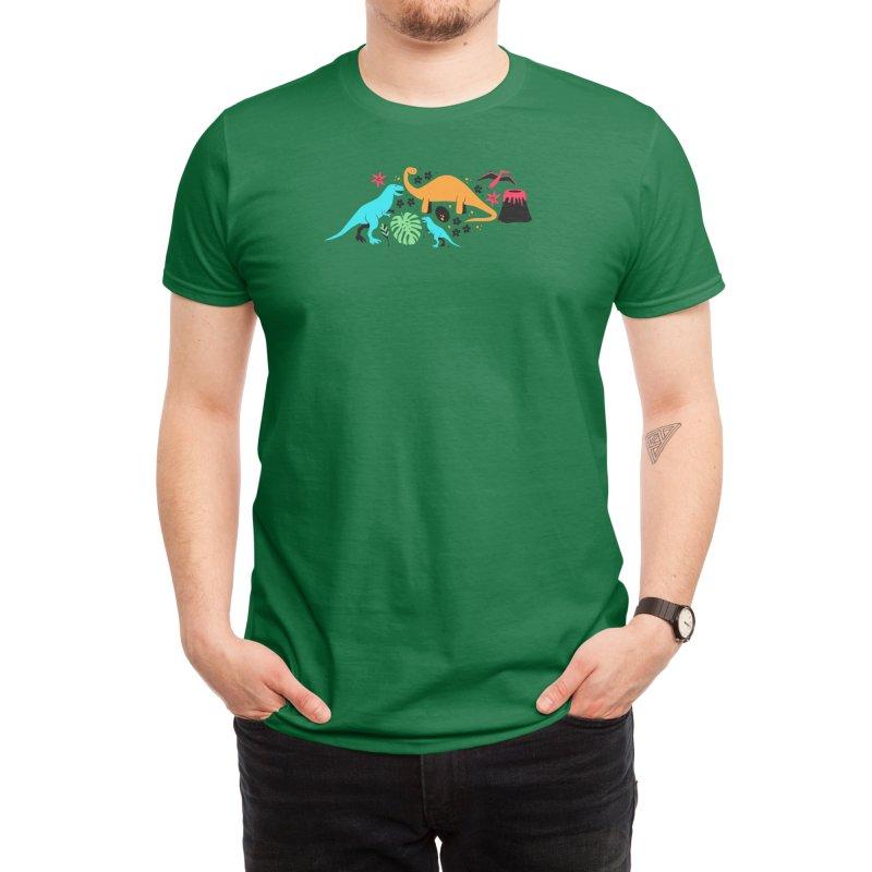 Dino-Roar! Men's T-Shirt by Threadless Artist Shop