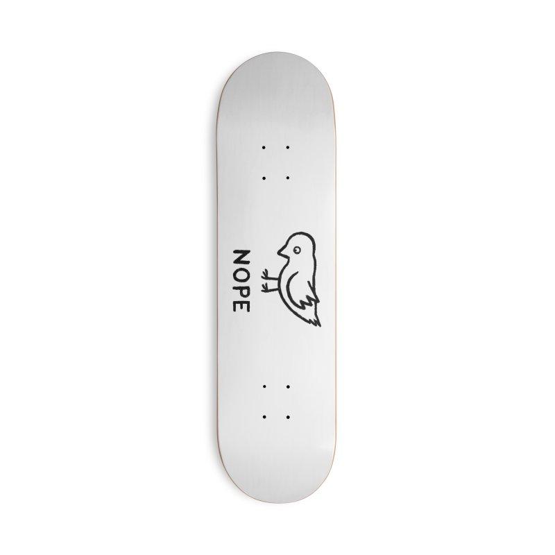 Nope Accessories Skateboard by Threadless Artist Shop