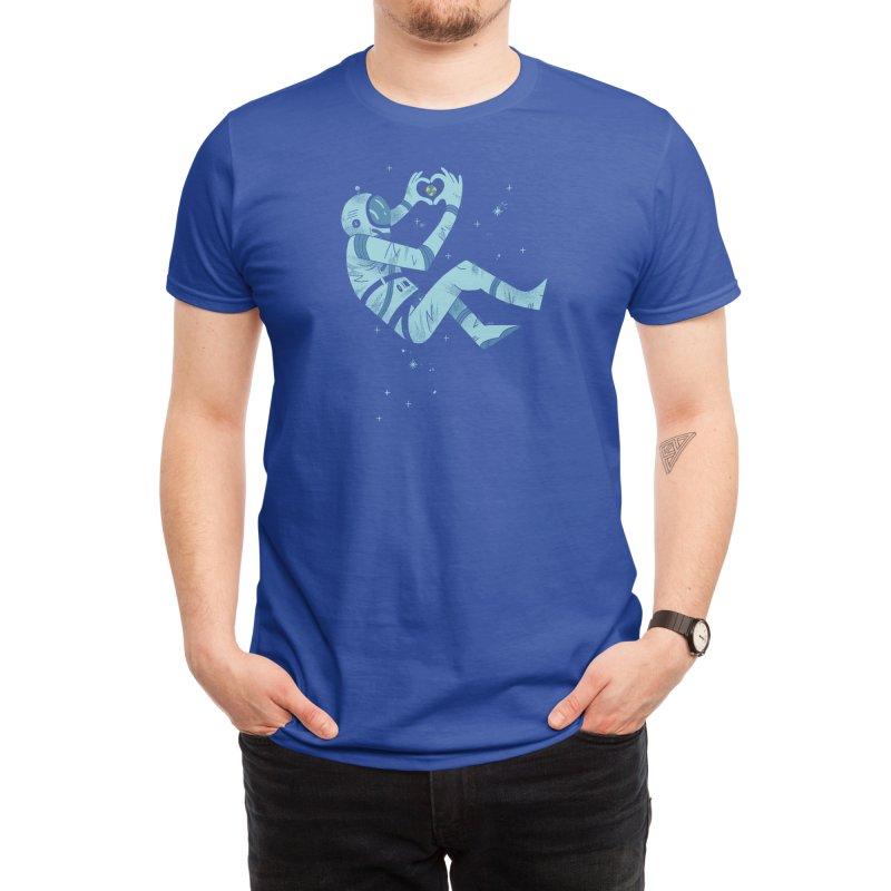 The Homesick Cosmonaut Men's T-Shirt by Threadless Artist Shop