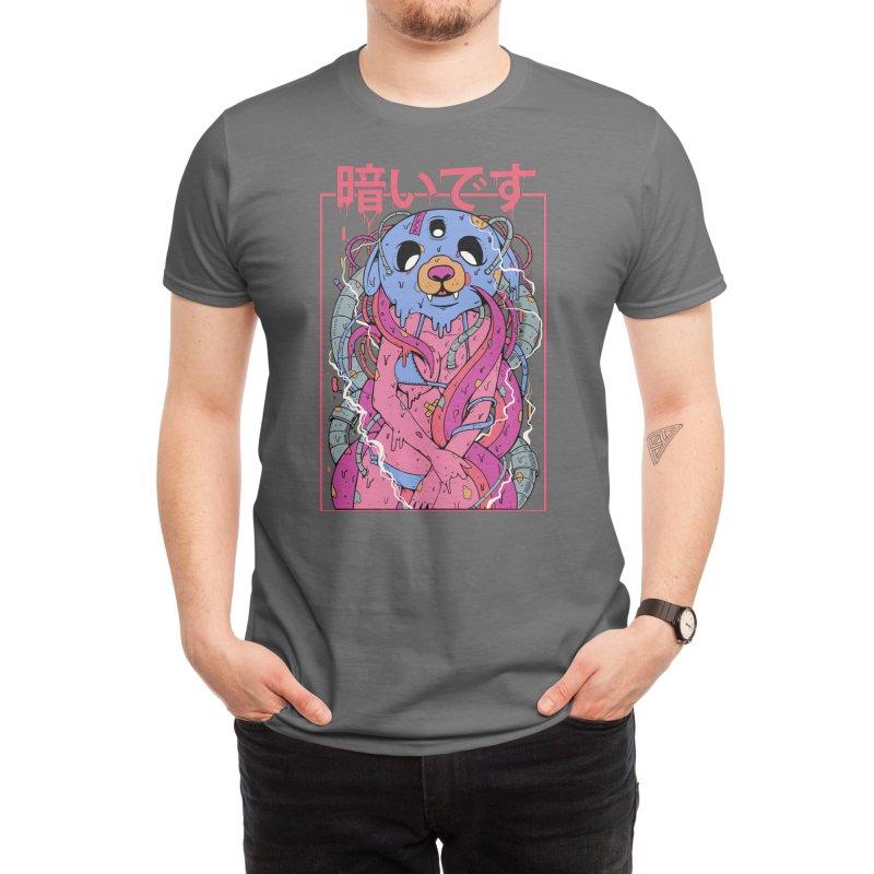 It's Dark Men's T-Shirt by Threadless Artist Shop