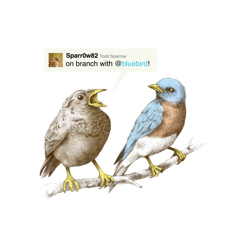 Tweet Men's T-Shirt by Threadless Artist Shop