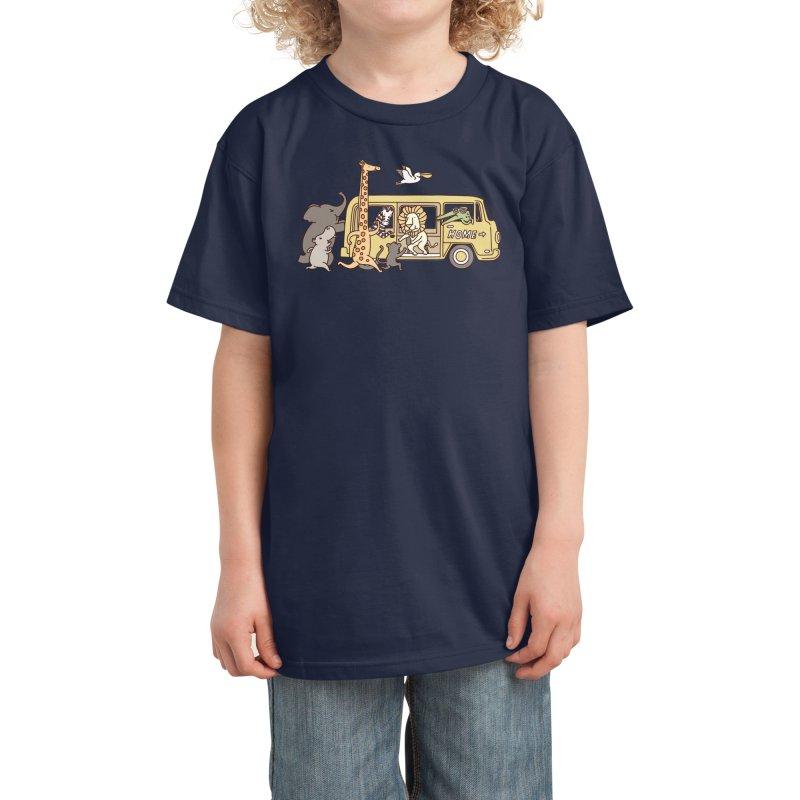 Missing Home Kids T-Shirt by Threadless Artist Shop
