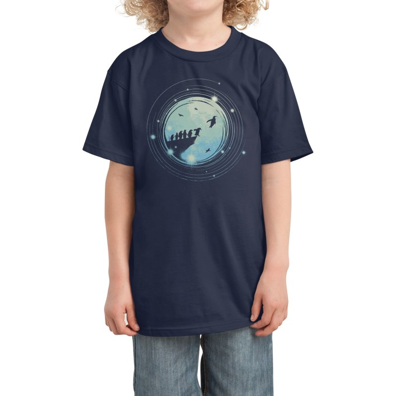 I Believe I Can Fly Kids T-Shirt by Threadless Artist Shop