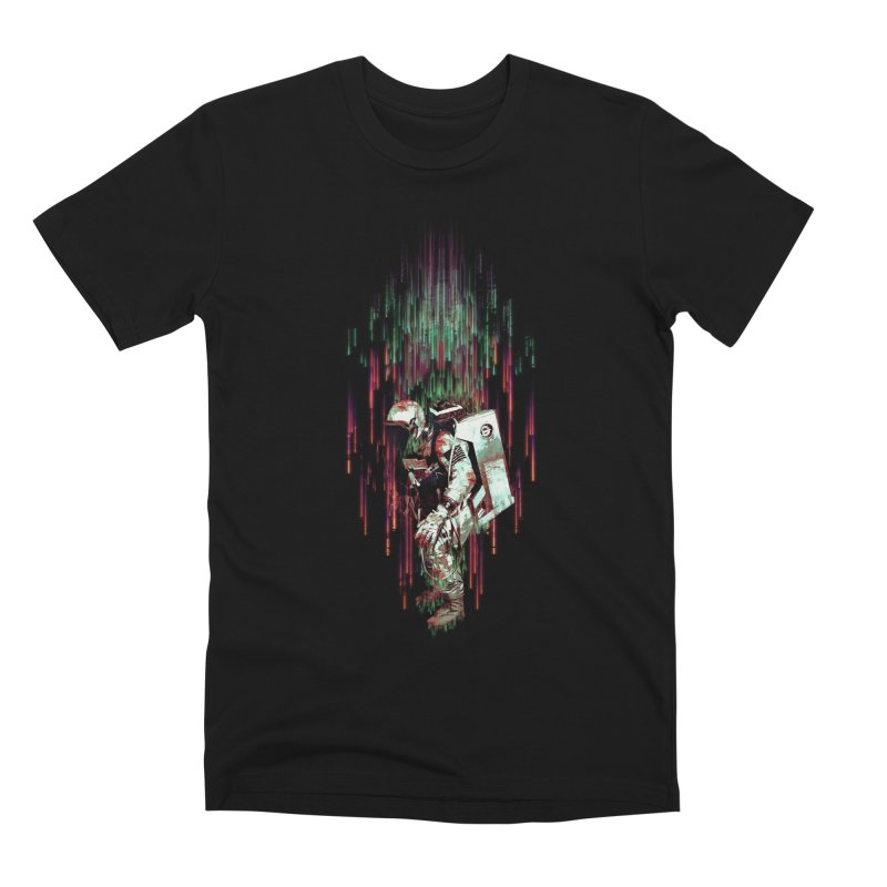 Falling from the Space Men's T-Shirt by Threadless Artist Shop