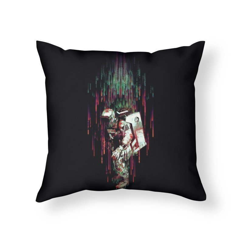 Falling from the Space Home Throw Pillow by Threadless Artist Shop