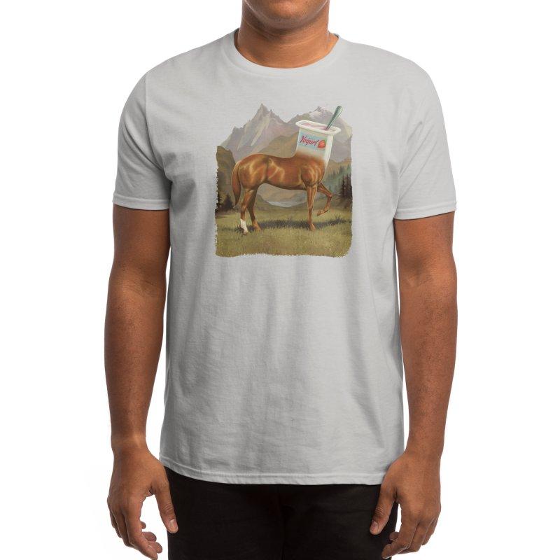 Half Horse Half Yogurt Men's T-Shirt by Threadless Artist Shop